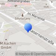 Karte Contessa Strickwarenvertrieb Velit Bari Aachen, Deutschland