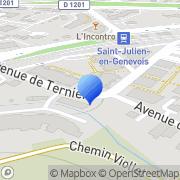 Carte de Cartonnages Roset S.N.C. Saint-Julien-en-Genevois, France