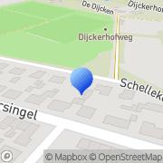 Kaart Online Natuursteen Reuver, Nederland