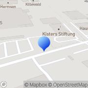 Karte Kisters-Stiftung Kleve, Deutschland