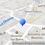Carte de Basset et Fils S.A.R.L. Divonne-les-Bains, France