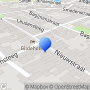 Kaart Knibbel Comics Deventer, Nederland