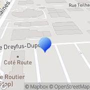 Carte de H. Reinier Metz, France