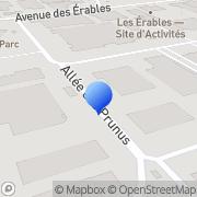 Carte de Brayer S.A. Houdemont, France