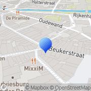 Kaart Dongeren Kantoorboekhandel Van Zutphen, Nederland