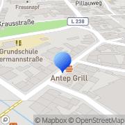 Karte Redaktion Burg Kurier Burg Verlag Hamacher Stolberg, Deutschland