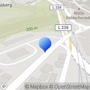 Karte Klüttgens Autokrane + Schwertransporte GMBH Stolberg, Deutschland