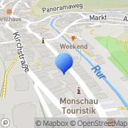 Karte Freiwillige Feuerwehr Löschzug Monschau Monschau, Deutschland