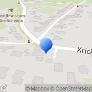 Karte Restaurant Nettetal, Deutschland