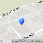 Karte BM Vertriebs GmbH Stolberg, Deutschland