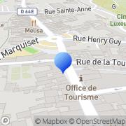 Carte de Carpenter S.A.S. Luxeuil-les-Bains, France