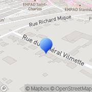 Carte de Berg S.A.R.L. Lunéville, France