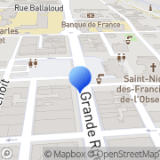Carte de Dimat S.A. Cluses, France