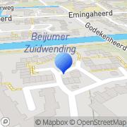 Kaart Allround Klussenbedrijf Deon Groningen, Nederland