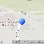 Carte de Forestière Docelloise S.A.S. Docelles, France
