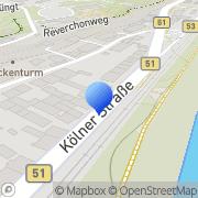 Karte Feilen-Wolff Trier, Deutschland