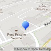 Karte CLESEA Service Manda Namegabe Trier, Deutschland