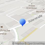 Karte Stefan Kuhnen GmbH Trier, Deutschland