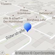 Karte ConCam Trier, Deutschland