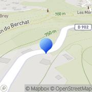 Carte de Décolletage Orset S.A. Saint-Gervais-les-Bains, France