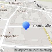 Karte Friör der kleinen Preise Dinslaken, Deutschland