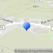 Carte de Franpin S.A. La Capelle, France