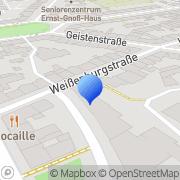 Karte Goldstück-Textilpflege Düsseldorf, Deutschland