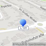 Karte Raumausstattung Peck Düsseldorf, Deutschland