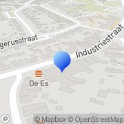 Kaart Partyhouse Boomhut De Hengelo, Nederland