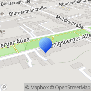 Karte Desinfektionsmittel Duisburg, Deutschland