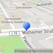 Karte Francisco Gonzales Buchbinderei Gmb Duisburg, Deutschland