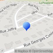 Carte de Getedic International S.A. Exincourt, France