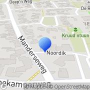 Kaart R. Oude Luttikhuis thodn Laptop Plus Tubbergen Vasse, Nederland