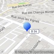 Carte de Faurecia S.A. Audincourt, France