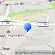 Karte Glas Reinhardt Oberhausen, Deutschland