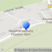 Karte Ev.Kirchengemeinde Mülheim an der Ruhr, Deutschland