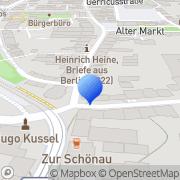 Karte Nolte Immobilien Düsseldorf, Deutschland