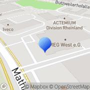 Karte Rhema Malerbedarf GmbH Köln, Deutschland