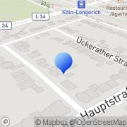 Karte Praxis für Logopädie - Uta Olschewsky Köln, Deutschland