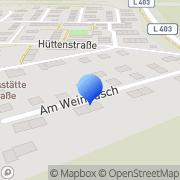 Karte Leuchter Bau Erkrath, Deutschland