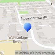 Karte Kath. Kindergarten Essen, Deutschland