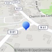 Carte de Briam Socha Autocars S.A. Grosbliederstroff, France