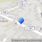 Karte Dünnwalder Druckerei August Brathuhn GmbH Köln, Deutschland