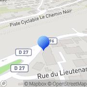 Carte de Distria Schoettlé Sarrebourg, France