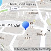 Carte de Sasso S.A. Sarrebourg, France