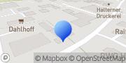 Karte Dipl.-Ing. Hans-Jochem Paßmann Öffentlich bestellter Vermessungsingenieur (ÖbVI) Haltern am See, Deutschland