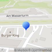 Karte Burger King Mayen, Deutschland