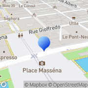 Carte de B.N.P. Paribas Nice, France