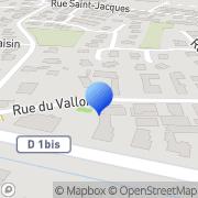 Carte de Groell et Compagnie S.A.R.L. Sigolsheim, France