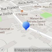 Carte de C.A.H.R. Formation Mulhouse, France